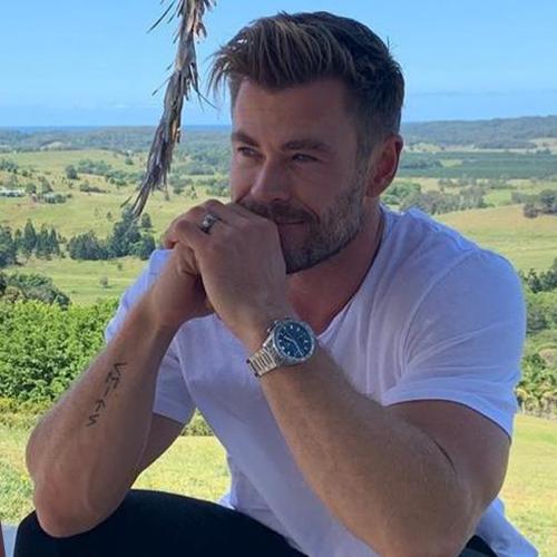 IT'S HAPPENED: Monty Spots Chris Hemsworth In Byron Bay