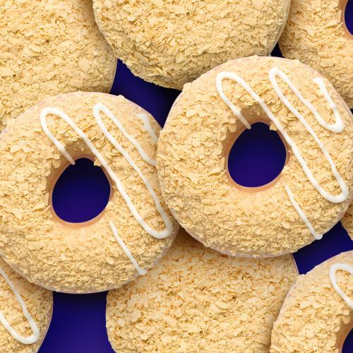 Krispy Kreme Have Dropped A Caramilk Collab & It's Glorious!
