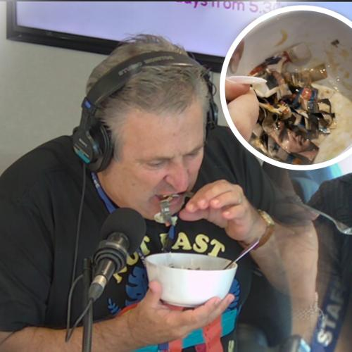 This Listeners Pregnancy Craving Was Shredded Newspaper & Honey, So We Tried It!
