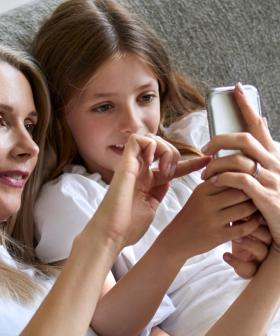 Do You Think This Lady Gave Her Daughter Access To A Phone Too Young?