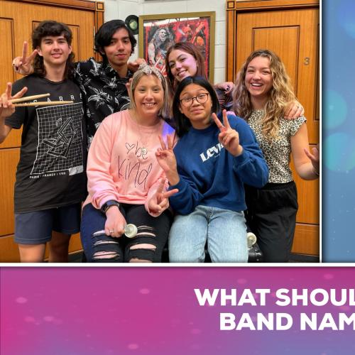 We Need Your Help! What Should The Bands Offical Name Be?