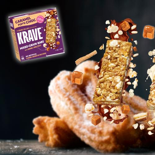 PSA: These New Caramel Choc Fudge & Churros Flavoured Snack Bars Just Hit The Market!